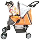 PetZip X-Large Sports Stroller, Orange