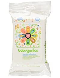 Babyganics Flushable Baby Wipes, Fragrance Free, 60 Count - Packaging May Vary (Pack of 3, 180 Total Wipes) BOBEBE Online Baby Store From New York to Miami and Los Angeles