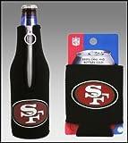 Cheap SET OF 2 SAN FRANCISCO 49ERS CAN & BOTTLE KOOZIE COOLER