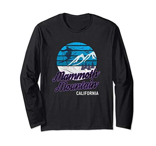 Mammoth Mountain California Ski Resort Snowboard Long Sleeve