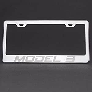 Amazon.com: UFRAME 100% Stainless Steel License Plate ...