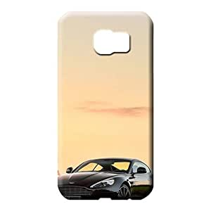 samsung galaxy s6 edge Heavy-duty Top Quality Scratch-proof Protection Cases Covers phone skins Aston martin Luxury car logo super