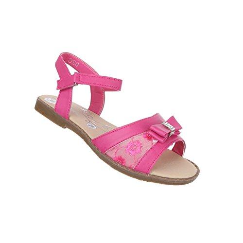 Kinderschuhe Sandalen Verzierte Sandaletten Nr 1 Pink