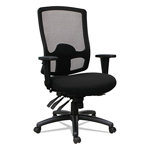 Cheap Alera ALEET4117 Etros Series High-Back Multifunction with Seat Slide Chair, Black