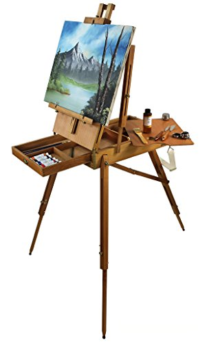 Our 'Sienna' Artist Quality French Easel is Made from Hard Beechwood and is Hand Varnished by Online Art Supplies