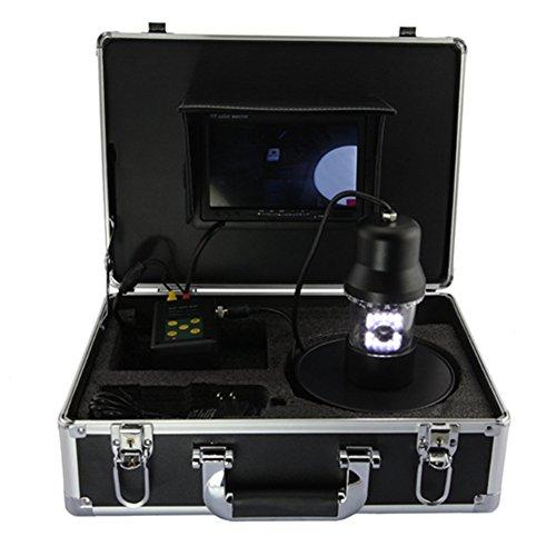 "Ennio 20m 7"" LCD Underwater Fishing Camera System & Sharp CC"