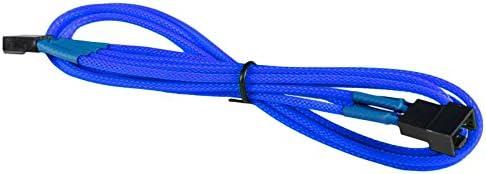 BattleBorn 5 Pack 50 Foot Ft Cat5e RJ45 Ethernet Network LAN Patch Cable Blue