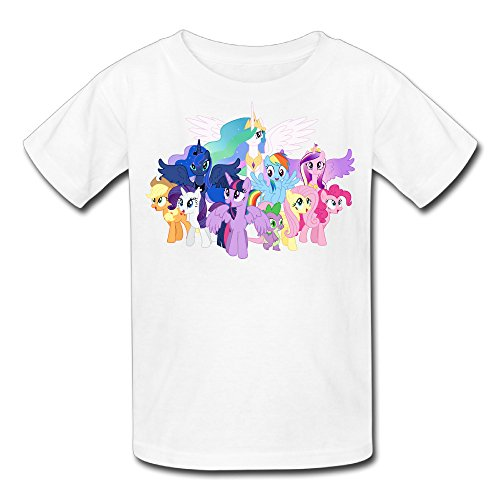 Kid's 100% Cotton My Little Pony Cute T-Shirt