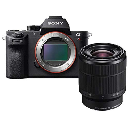 Sony a7R II + 28-70mm F3.5-5.6 OSS Zoom Lens Bundle, Black (ILCE7RM2K/B)