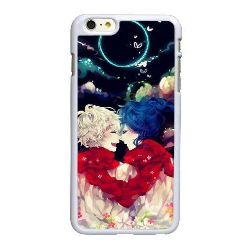 O6C89 Anime F4N1QN coque iPhone 6 Plus de 5,5 pouces cas de couverture de téléphone portable coque blanche KM6BWB3ME