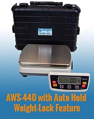Summit Measurement AWS440- Autohold Portable Wrestling Scale Tournament Kit