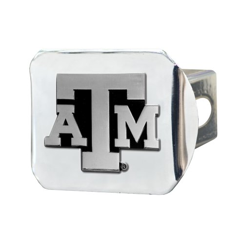 FANMATS  15103  NCAA Texas A&M University Aggies Chrome Hitch Cover by Fanmats