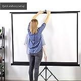 """VIVO 100"""" Portable Indoor Outdoor Projector"""