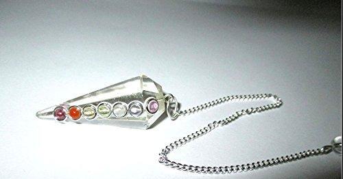 Crystal Quartz Pendulum Faceted Quality