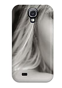 Vicky C. Parker's Shop Anti-scratch And Shatterproof Eyes In Black And White Phone Case For Galaxy S4/ High Quality Tpu Case