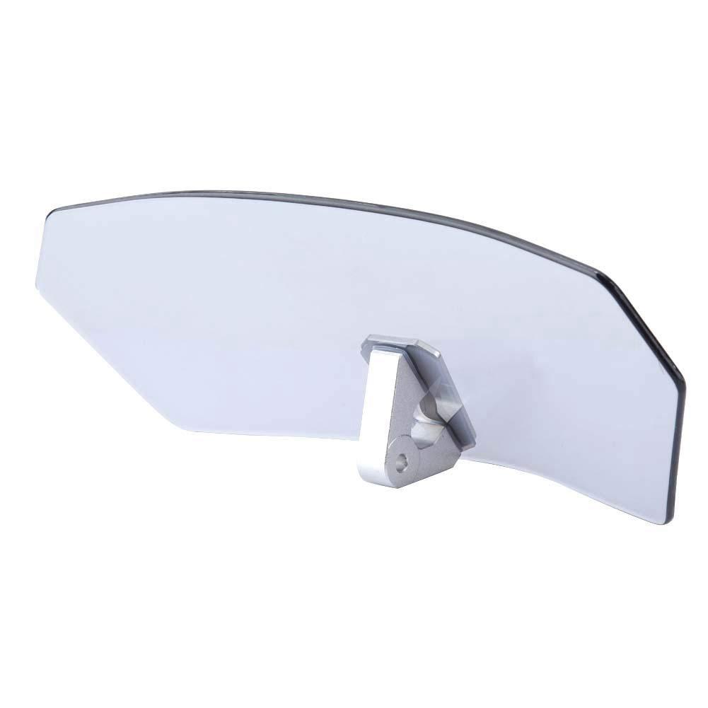 ABS 2420726031 Parabrezza regolabile per moto universale//deflettore del vento//parabrezza vetro + lega di alluminio