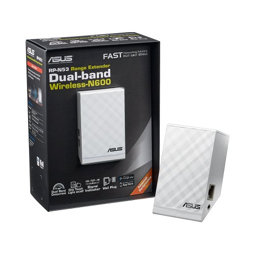 ASUS Dual-Band Wireless-N600 Repeater and Audio Streamer (RP-N53) by Asus (Image #3)
