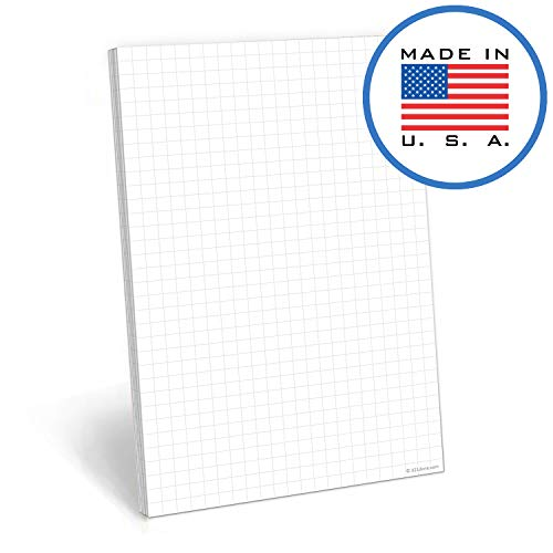 321Done Graph Paper Notepad - 50 Sheets (5.5