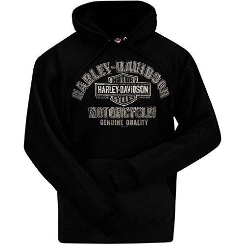 Harley-Davidson Hooded Pullover Sweatshirt - Quality Name (Harley Hoodie)