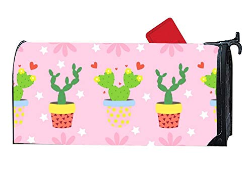 Rockwell F Berlin Decorative Mailbox Makeover Cover Lovely Cactus Garden Mailbox Cover