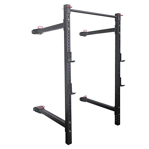 Titan 41 Fold Back Wall Mounted X-3 Power Rack