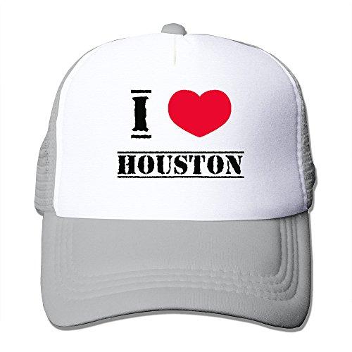 I Love Houston Mesh Back Baseball Hat Trucker - District Houston Shopping