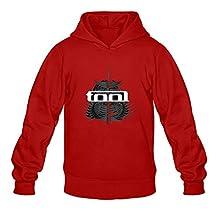 Crystal Men's Tool Long Sleeve Hoody Red US Size L