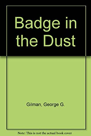 book cover of Badge in the Dust