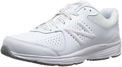 New Balance Women's WW411WT2 Walking Shoe, White, 5 2A US