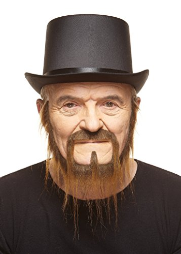 Mustaches Self Adhesive, Novelty, Fake, Long Squatter Beard, Brown Color by Mustaches (Image #1)