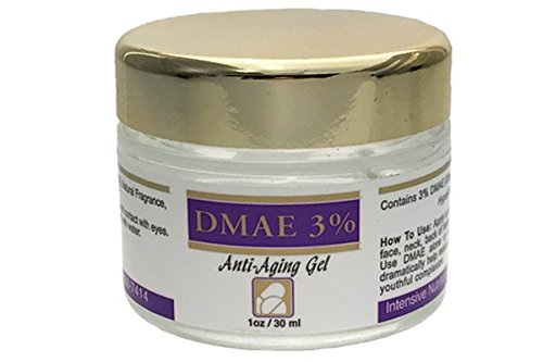 DMAE Anti-Aging Skin Care Gel 3% 1oz Jar