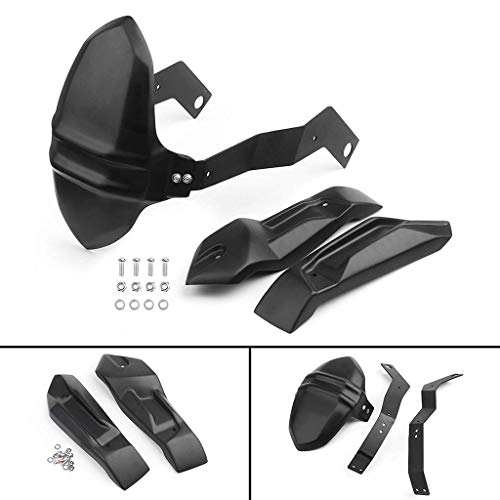 Rear Protect Mud Dust Guard Fender Hugger Mudguard for BMW F800GS F700GS F800R F650GS 2008-2017 ()