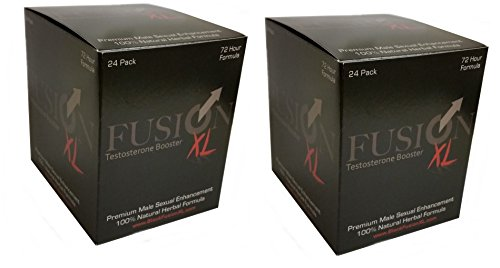 Fusion XL All Natural Testosterone Booster Male Enhancement Pill (48 Pills) by Fusion Brands