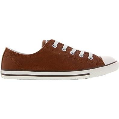 d85a33a1c0c38e Converse Chuck Taylor Dainty Leather women SCHWARZ 534606 °C Size ...