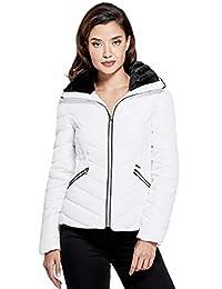 Guess Factory Women's Cyrus Faux-Fur Puffer Jacket