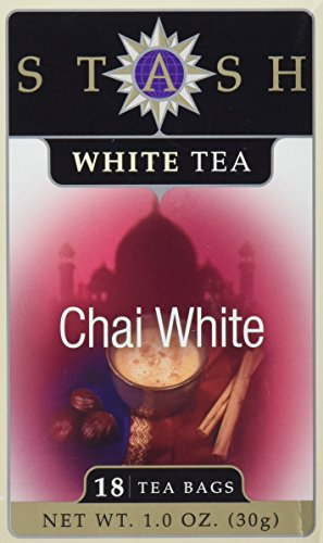 Chai White Tea - Premium Chai White Tea by Stash Tea Company - 18 Tea Bags