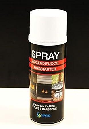 Encendedor Fuego spray 520 ml para encender chimeneas y barbacoa: Amazon.es: Hogar