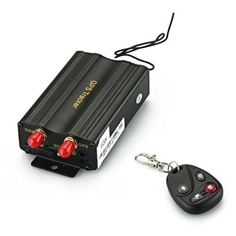 Localizador TK103B GSM / GPS SMS SOS alarma de coche con ...