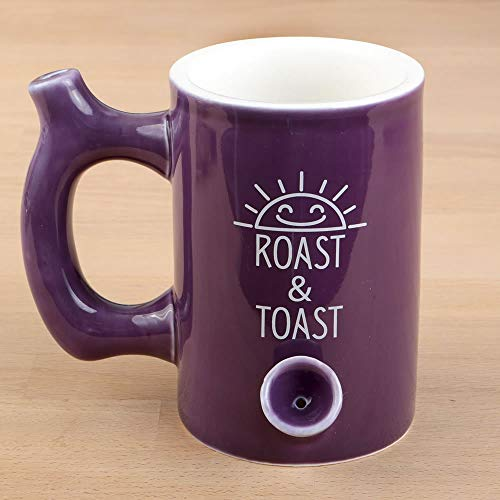 Fashion Craft 82347 Glossy Premium Roast & Toast Mug 5 1/4 x 6 x 4 1/4