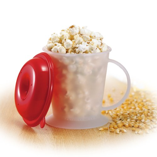 Akebono Industry Microwave Oven Popcorn Maker With
