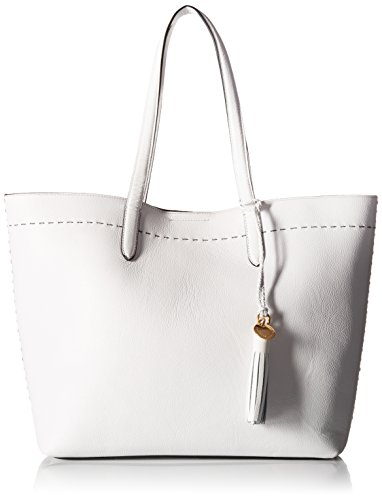 Cole Haan Payson Tote,optic white,One Size (Tote Leather Bag White)