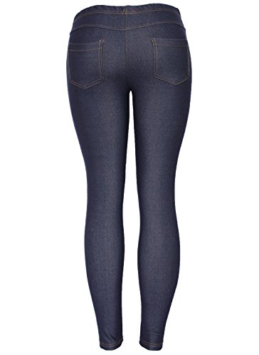 Skinny Femme Bleu Jeans Noir Noir BF522 8vY5zwq5
