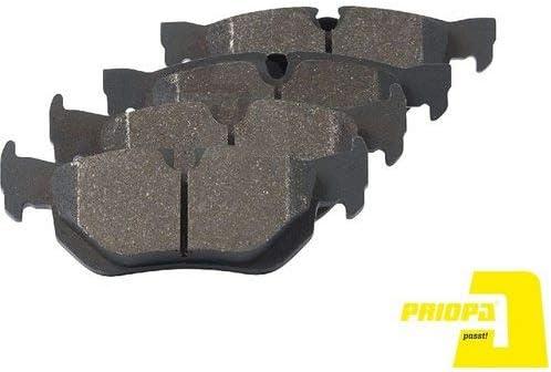 Priopa Bremsscheiben 234Mm Bremsbel/äge Set Hinten