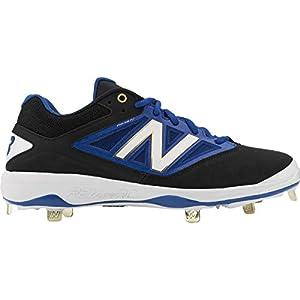 New Balance Men's L4040v3 Low Metal Baseball Cleats