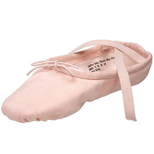 Capezio Pro Leinwand Ballett Schuh schwarz - schwarz