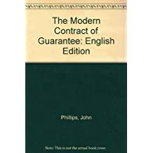 The Modern Contract of Guarantee: English Edition