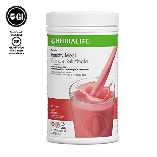 Herbalife Formula 1 Healthy Meal Nutritional Shake Mix (10 Flavor) (Wild Berry)