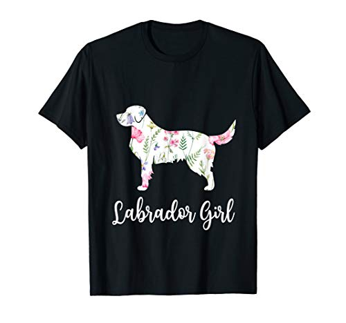Labrador girl Funny Labrador Dog Lovers T Shirt Gift