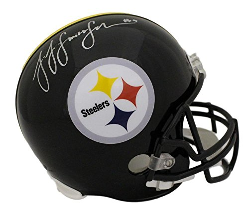 JuJu Smith Schuster Autographed Pittsburgh Steelers Replica Helmet BAS ()