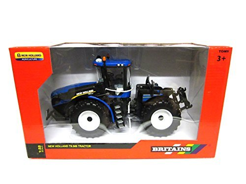 Britains blu e bianco new Holland T9.565 trattore modellino in scala 1 32